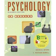 Loose-leaf Version for Psychology in Modules by Myers, David G.; DeWall, C. Nathan, 9781464173578