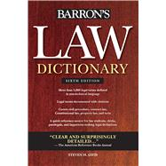 Law Dictionary by Gifis, Stephen H., 9780764143588