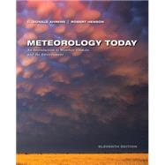 Meteorology Today by Ahrens, C. Donald; Henson, Robert, 9781305113589