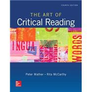 The Art of Critical Reading by Mather, Peter; McCarthy, Rita, 9780073513591