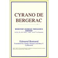 Cyrano de Bergerac : Webster's Korean Thesaurus Edition by ICON Reference, 9780497913601