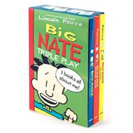 Big Nate Triple Play Box Set by Peirce, Lincoln; Peirce, Lincoln, 9780062283603