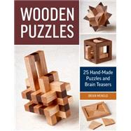 Wooden Puzzles by Menold, Brian, 9781631863608