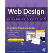 Web Design with HTML and CSS Digital Classroom, (Book and Video Training) by Unknown, 9780470583609