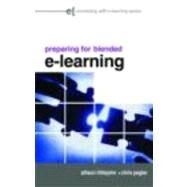 Preparing for Blended e-Learning by Littlejohn; Allison, 9780415403610