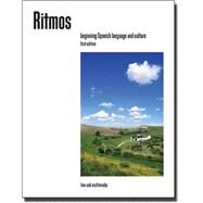 Ritmos Volume 1, Beginning Spanish Language and Culture, 2nd edition textbook [Units 1-5] by Live Oak Multimedia, 9781886553613