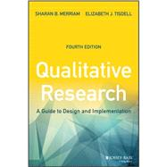 Qualitative Research by Merriam, Sharan B.; Tisdell, Elizabeth J., 9781119003618