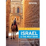 Moon Israel & the West Bank Including Petra by Belmaker, Genevieve, 9781631213618