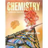 Chemistry A Molecular Approach, Books a la Carte Plus MasteringChemistry with eText -- Access Card Package by Tro, Nivaldo J., 9780321813619