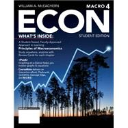 ECON Macroeconomics 4 (with CourseMate Printed Access Card) by McEachern, William A., 9781285423623