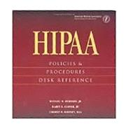 HIPAA Policies and Procedures Desk Reference (Three-Ring Binder with CD-ROM) by Hubbard, Michael, 9781579473624