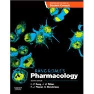 Rang and Dale's Pharmacology by Rang, H. P., 9780702053627