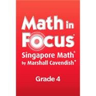 Math in Focus , Book B Grade 4 by Houghton Mifflin Harcourt, 9780544193628
