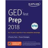 Kaplan GED Test Prep 2018 by Van Slyke, Caren, 9781506223629