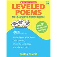 Leveled Poems for Small-Group Reading Lessons 40 Reproducible Poems With Mini-Lessons for Guided Reading Levels E-N by Chanko, Pamela, 9780545593632