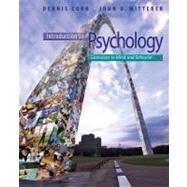 Introduction to Psychology Gateways to Mind and Behavior with Concept Maps and Reviews by Coon, Dennis; Mitterer, John O., 9781111833633