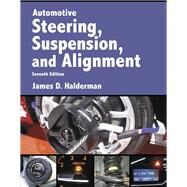 Automotive Steering, Suspension & Alignment by Halderman, James D., 9780134073651