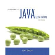 Starting Out with Java Early Objects Plus MyLab Programming with Pearson eText -- Access Card Package by Gaddis, Tony, 9780134543659
