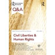 Q&A Civil Liberties & Human Rights 2013-2014 by Fenwick; Helen, 9780415633659