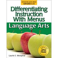 Differentiating Instruction With Menus by Westphal, Laurie E., 9781593633660