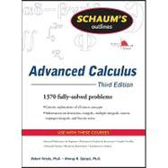 Schaum's Outline of Advanced Calculus, Third Edition by Wrede, Robert; Spiegel, Murray, 9780071623667
