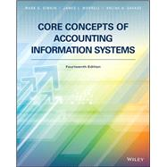 CORE CONCEPTS OF ACCOUNTING INFORMATION SYSTEMS by Unknown, 9781119373667