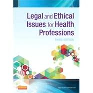 Legal and Ethical Issues for Health Professions by McTeigue, Jeanne; Lee, Christopher, 9781455733668