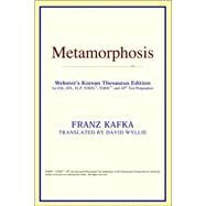 Metamorphosis : Webster's Korean Thesaurus Edition by ICON Reference, 9780497913670