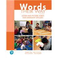 Words Their Way Letter and Picture Sorts for Emergent Spellers by Bear, Donald R.; Invernizzi, Marcia; Johnston, Francine; Templeton, Shane, 9780134773674