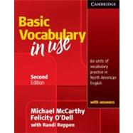 Vocabulary in Use Basic Student's Book with answers by Michael McCarthy , Felicity O'Dell , With Randi Reppen, 9780521123679