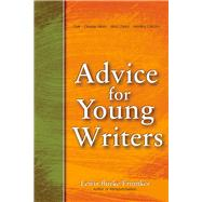 Advice for Young Writers by Frumkes, Lewis Burke, 9781936863679