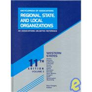 Regional, State, and Local Organizations: Western States by Karges, Ken, 9780787633684