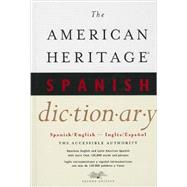 The American Heritage Spanish Dictionary by Houghton Mifflin Harcourt Publishing, 9780544103689