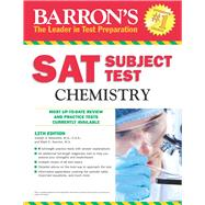 Barron's Sat Subject Test Chemistry by Mascetta, Joseph A.; Kernion, Mark C., 9781438003702