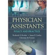 Physician Assistants by Hooker, Roderick S., 9780803643703