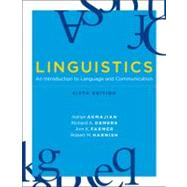 Linguistics: An Introduction to Language and Communication by Akmajian, Adrian, 9780262513708