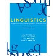 Linguistics by Akmajian, Adrian, 9780262513708