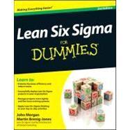 Lean Six Sigma for Dummies by Morgan, John; Brenig-Jones, Martin, 9781119953708