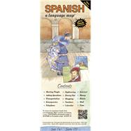 SPANISH a language map® by Kershul, Kristine K., 9781931873710