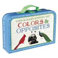 Look & Learn Activity Set: Colors & Opposites by Knowles, Laura, 9781626863712