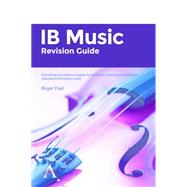 IB Music Revision Guide 2014-2016 by Paul, Roger, 9781783083718
