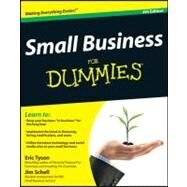 Small Business for Dummies by Tyson, Eric; Schell, Jim, 9781118083727