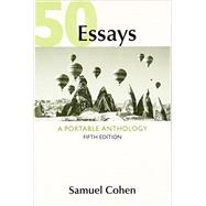 50 Essays A Portable Anthology by Cohen, Samuel, 9781319043728