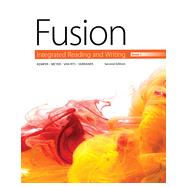 Fusion Integrated Reading and Writing, Book 1 by Kemper, Dave; Meyer, Verne; Van Rys, John; Sebranek, Patrick, 9781305103733