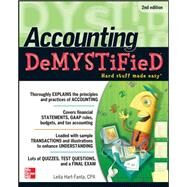 Accounting DeMYSTiFieD, 2nd Edition by Hart, Leita, 9780071763738