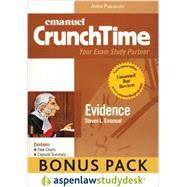 Evidence : Aspenlaw Studydesk Bonus Pack by Emanuel, Steven, 9780735583740