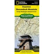 Stauton/Shenandoah Mtn George Washington National Forest, Virginia/West Virginia: Outdoor Recreation Map