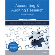 ACCOUNTING & AUDITING RESEARCH 9th by Weirich, 9781119373742