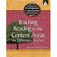 Teaching Reading in the Content Areas for Elementary Teachers 9781425803742R