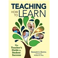 Teaching How to Learn by Kiewra, Kenneth A.; Peltz, William H., 9781634503747